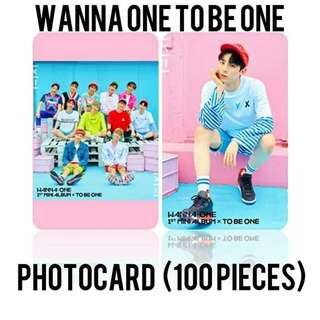 523 WANNA ONE PHOTOCARD / LOMOCARD💫 (100 PIECES)