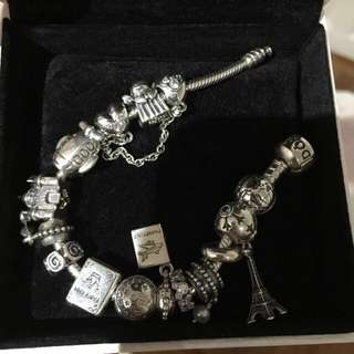 Clearance ⚡️Authentic Assorted Pandora charm , clips and bracelet