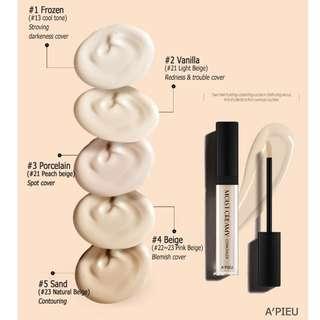 A'PIEU Moist Cream Concealer SPF 30 Pa++