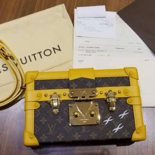 Louis Vuitton Monogram Petite Malle Bag