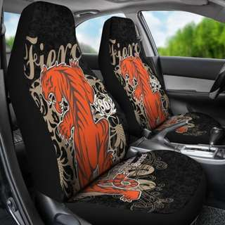 Fierce Tiger Car Seat Covers