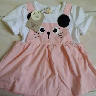 Korea baby Girl Dress for baby less then 6kg