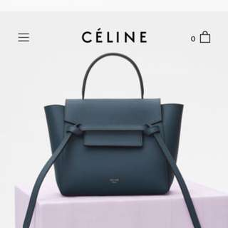 Celine nano belt Handbags mini belt / mirco belt