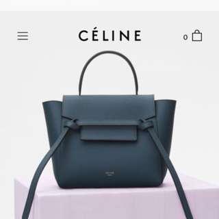 Celine nano belt Handbags mini belt / mirco belt
