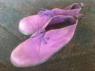 DrMartens Purple Suede