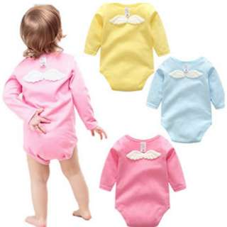 50266 Wing Baby Long-sleeved Jumpsuit