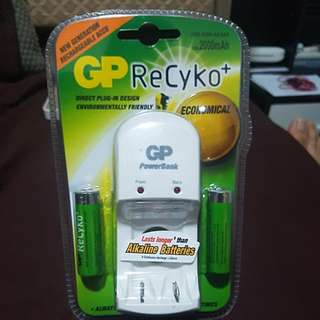 GP recyko+ rechargeable battery
