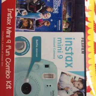 Fuji instax Camera mini 9