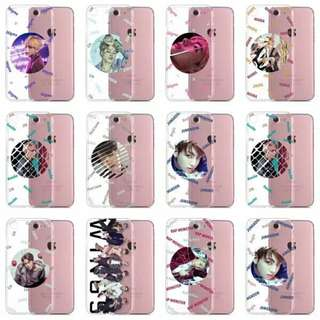 204 BTS WINGS TRANS PHONECASE. 💫