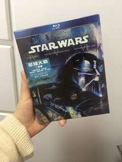 Star War 4 5 6集 blu-ray碟
