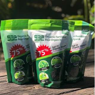 Baba Smart Grow 532 Organic Fertilizer for Vegetables (500g)