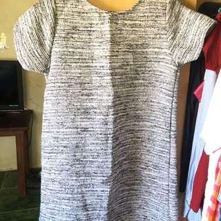 Woven short dress