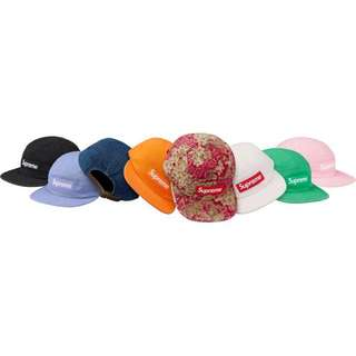 Supreme SS18 Washed Chino Twill Camp Cap