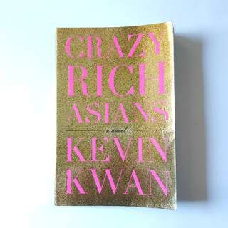 Crazy Rich Asians Book by Kevin Kwan  (read once)