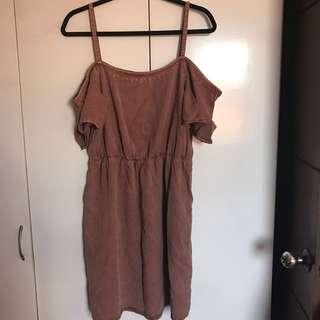 Vero Moda brown dress