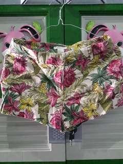 HnM flowery hot pants