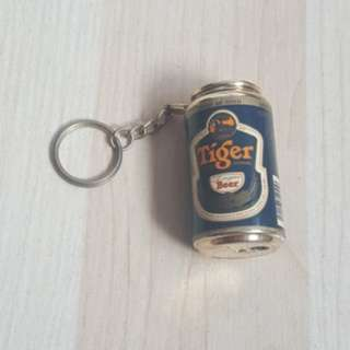 Tiger Beer Keychain