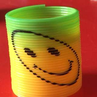 Smiley Face Spring Toy