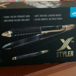 JML styler 2-in-1 straightener and curler with ceramic ionic technology