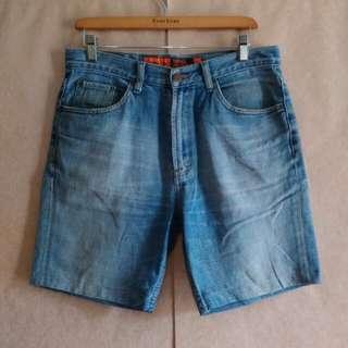Celana pendek jeans pria LEA original