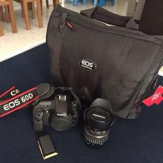 Canon 60D + Tamron 17-50mm Lens
