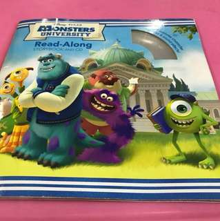 Monsters University- read along