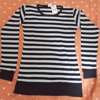 Stripe top Long Sleeve (+5k)