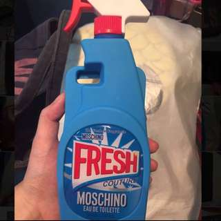 Authentic Moschino iPhone 6/6s case