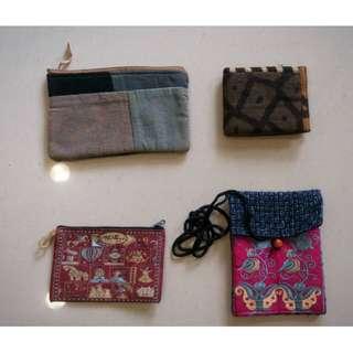 代購 MAKAika手作創意錢包拼接收納包手機包化妝包面紙包 可背背帶隨身小包 土耳其收納多用途包
