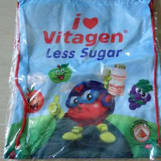 Vitagen drawstring bag