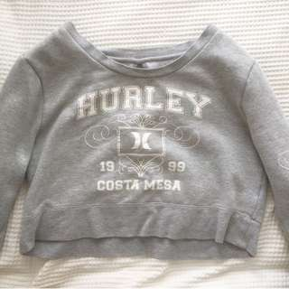 Hurley Cropped Jumper