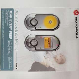 Motorola Digital Audio Baby Monitor with Room Temperature display