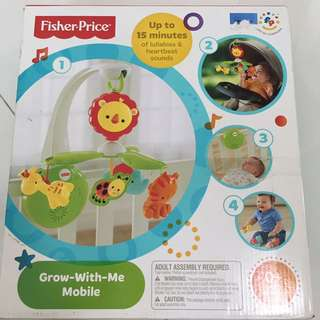 Fisher price Grow with me mobile BRAND NEW