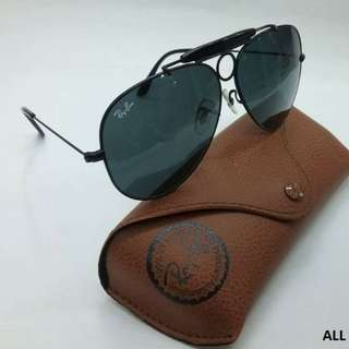 Authentic Rayban Aviator Shooter Luxottica (Unpolarized)