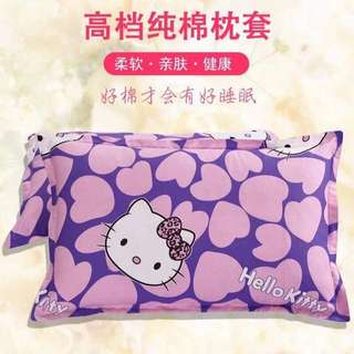 Pair of Hello Kitty Pillow Cases 2 pc