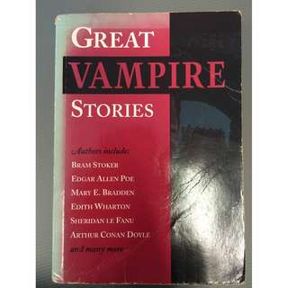 Horry Story Fiction book Vampire Stories Collection