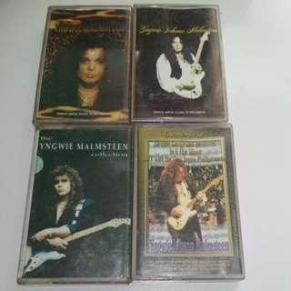 4 kaset Yngwie Malmsteen