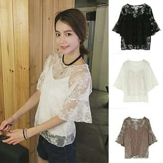Lace Two Ways Top