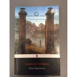 Classic Fiction Book Great Expectations by Charles Dickens Penguin