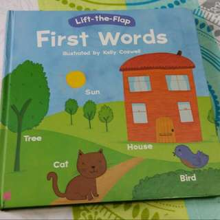 First Words(lift-the-flap)