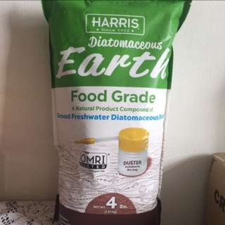 Harris Food Grade Diatomaeceous Earth 4lbs Health Food, Bug Killer, Natural