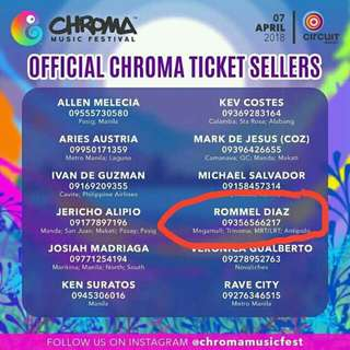 Chroma Music Festival Tickets Promo