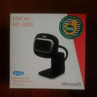 Microsoft 網絡攝影機:LifeCam HD 3000