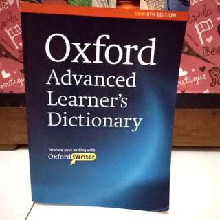 Oxford Advance Learner's Dictionary 8th edition