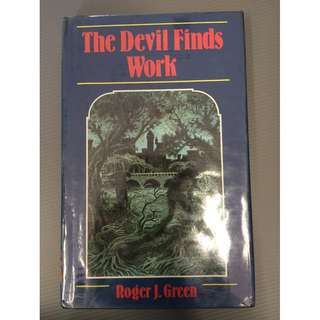 Horror Story Book Devil Finds Work by Roger J. Green, Oxford University Press [hardcover]