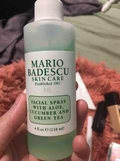 Mario facial spray