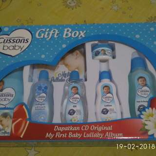 Cussons Baby Gift Box New