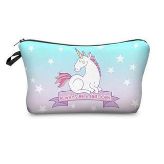 Cosmetics MakeUp Pouch Bag Unicorn