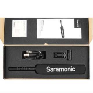 Saramonic SR-TM7 Super-Cardioid Broadcast XLR Shotgun Condenser Microphone