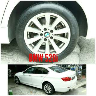 Tyre 225/55 R17 Membat on BMW 520i 🐕 Super Offer 🙋‍♂️